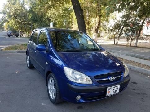 Hyundai Getz 1.6л